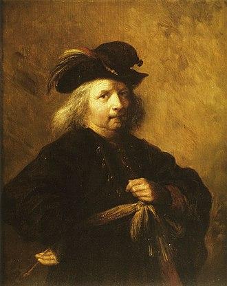 Paulus Lesire - Self-portrait of Lesire.
