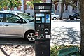 Pay-By-Space parking meter, Bull St, Savannah.jpg