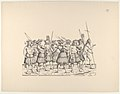 People from Calicut, from The Triumphal Procession of Emperor Maximilian (Triumph Des Kaisers Maximilian I) MET DP834160.jpg