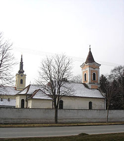 Churches in Perlez: Orthodox and Catholic