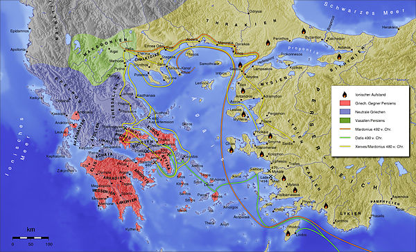 change in the control of greece after persian wars