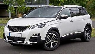 Peugeot 5008 Motor vehicle
