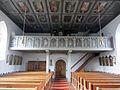 Pfarrkirche St. Georg in Gachenbach Empore.JPG