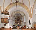 Pfarrkirche hl. Margaretha 02, Eschenau (municipality Taxenbach) - high altar.jpg