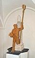Pfarrkirche hl. Nikolaus 04, Ratten, statue of Saint Nicholas by Bernd Preisegger.jpg