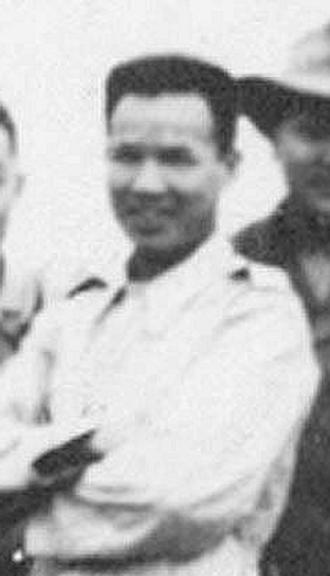 Phạm Văn Đổng - Phạm Văn Đổng as a Lt. Colonel, 1953