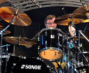 Phil Rudd - Phil Rudd with AC/DC on 23 November 2008 in St. Paul, Minnesota