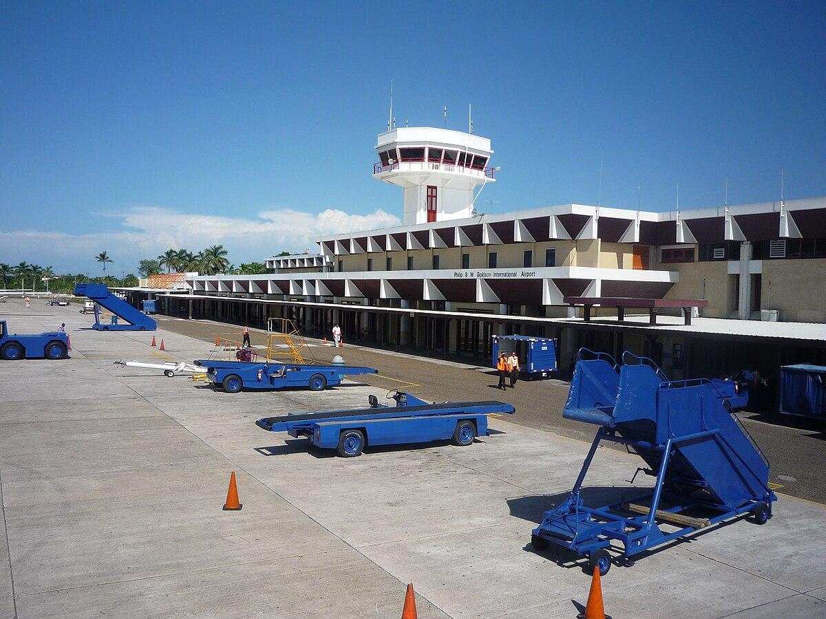 Philip S  W  Goldson International Airport
