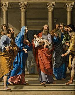 Philippe de Champaigne - Presentación de Cristo en el templo