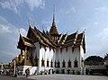 Phra Thinang Dusit Maha Prasat (พระที่นั่งดุสิตมหาปราสาท), Grand Palace, Bangkok.JPG