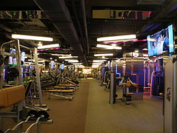 Physical Fitness Kennedy Town branch (interior)