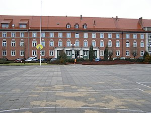 Consistory (Protestantism) - APU's former Posen-West Prussia Consistory, now the office of an oil and gas drilling company in Piła.