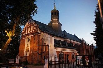 Piaseczno - St. Anne's Church in Piaseczno