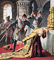 Pictures of English History Plate XX - Murder of Thomas A Becket.jpg