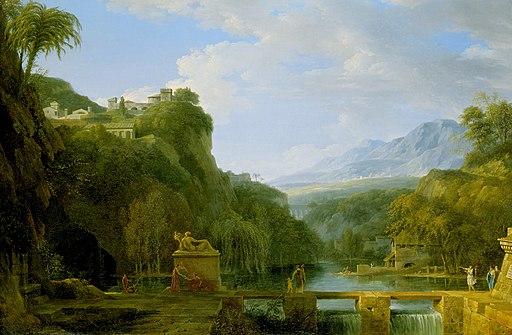 Pierre Henri de Valenciennes - Landscape of Ancient Greece - 75.65 - Detroit Institute of Arts