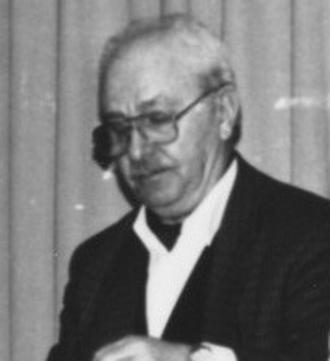 Pierre Lambert - Pierre Lambert in 1988 in the city of Montpellier