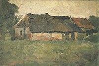Piet Mondriaan - Farm building in Het Gooi, viewed from a field - A170 - Piet Mondrian, catalogue raisonné.jpg
