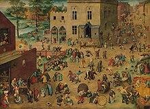Peter Brueghel, Xogos de Nenos