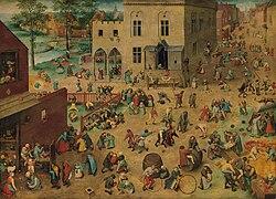 Pieter Bruegel der Ältere: Die Kinderspiele