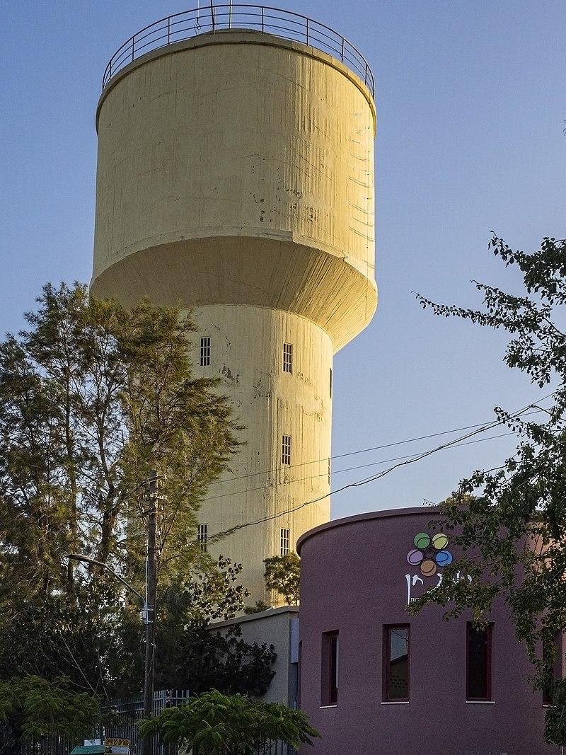 מגדל המים רמת חן רמת גן