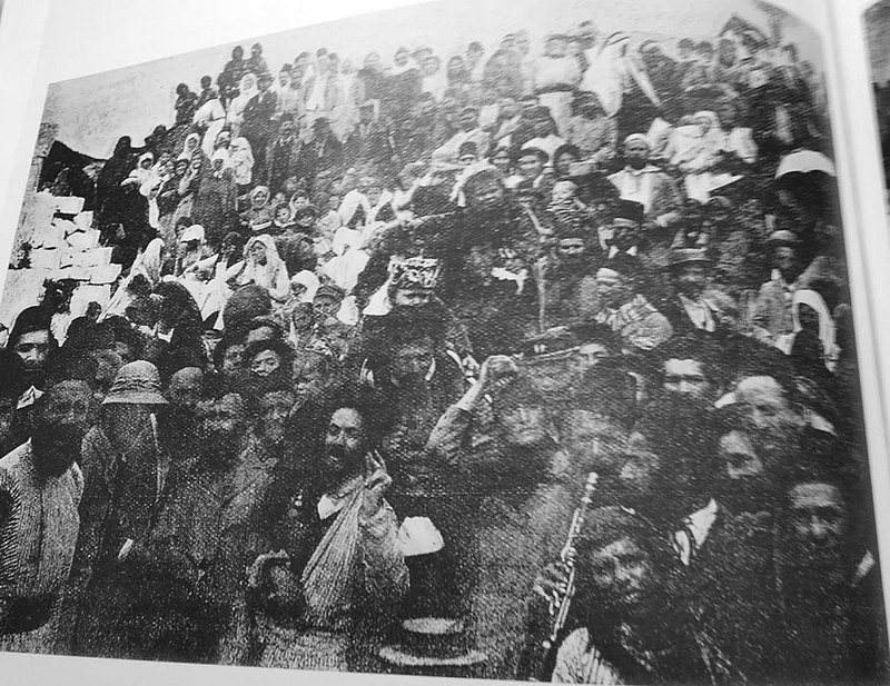 החגיגות במירון 1899
