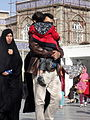 Pilgrims and People around the Holy shrine of Imam Reza at Niruz days - Mashhad - Khorasan - Iran 073.JPG