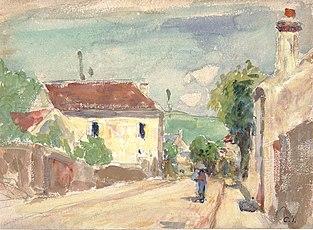 La Rue de l'Hermitage, Pontoise