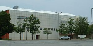 Pizzitola Sports Center - Image: Pizzitola Front