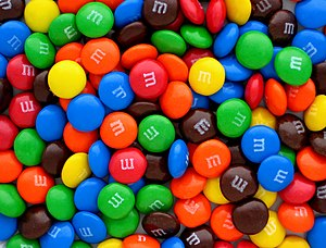 M&M's - Image: Plain M&Ms Pile