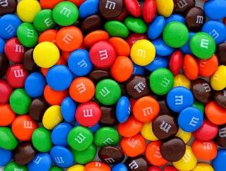 M&Ms brand of chocolate treats