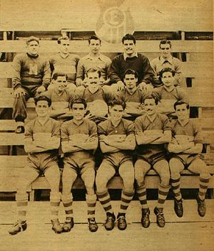 Everton de Viña del Mar - Squad of Everton in the year of his first national championship.
