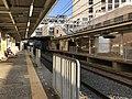Platform of Maiko-Koen Station 1.jpg