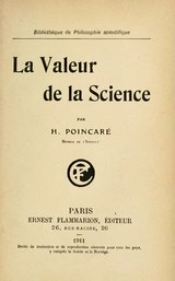 Poincaré - La Valeur de la science.djvu