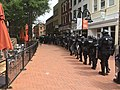 Police march downtown (36195155430).jpg