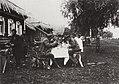 Poljakov - Mittagessen der Offiziere während Militärübungen im Dorf Elagino, bei Moskau (Zeno Fotografie).jpg