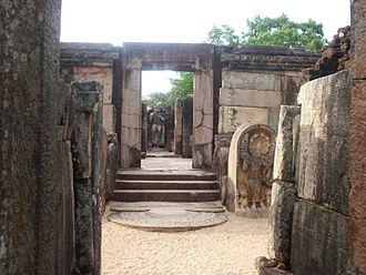 Hatadage - The entrance to the Hatadage.