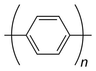 Poly(p-phenylene) - The structure of the repeating unit of PPP