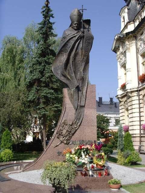 Pomnik Jana Pawla II Nowy Sacz