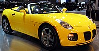 Pontiac Solstice GXP photographed at the Washi...