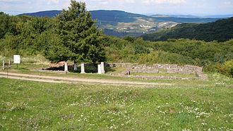 Porolissum - The temple of Jupiter Optimus Maximus Dolichenus