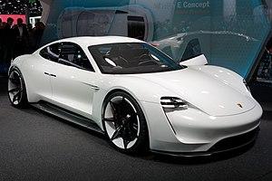 Porsche Mission E - Image: Porsche Mission E IAA 2015 8 cropped