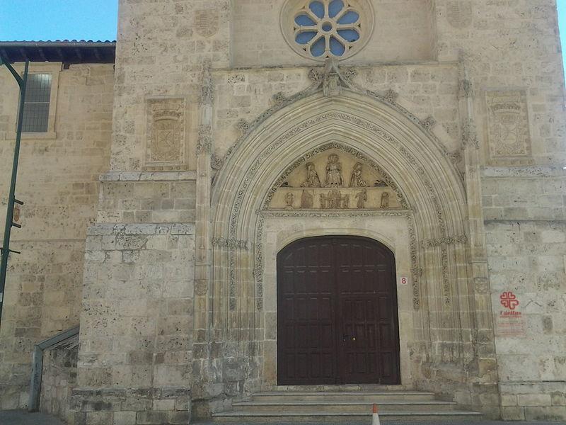 Portada de la capilla de San Ildefonso del desaparecido convento de la Stma. Trinidad de Burgos 1.jpg