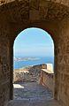 Portal d'accés a l'últim recinte del castell de santa Bàrbara, Alacant.JPG