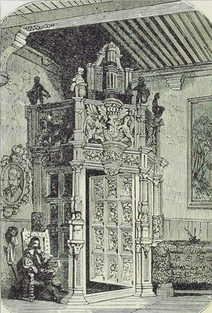 Oudenaarde Town Hall - Portal by Pauwel van der Schelden