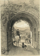 Porth Mawr gateway Crickhowel