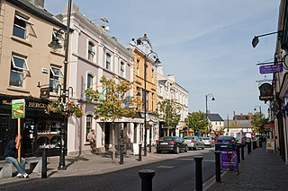 Port Laoise Town in Leinster, Ireland