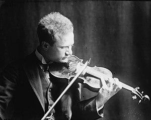 Mischa Elman - Portrait photograph of Mischa Elman, 1915