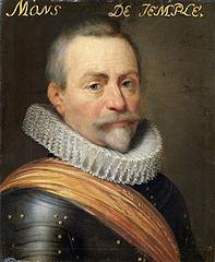 Portrait of Olivier van den Tempel (1540-1603), Lord of Corbeecke