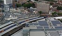 Portsmouth MMB 64 Portsmouth Harbour railway station 450XXX 450XXX.jpg