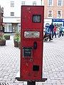 Postage Stamp Vending Machine, Ludlow - geograph.org.uk - 1245202.jpg